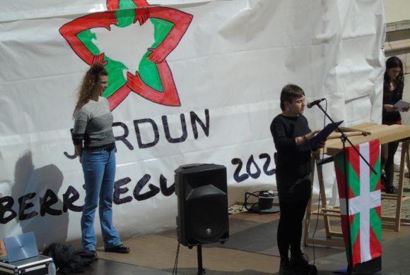 JARDUN-en Ekimen Feministako kideen Aberri Eguneko hitzaldia