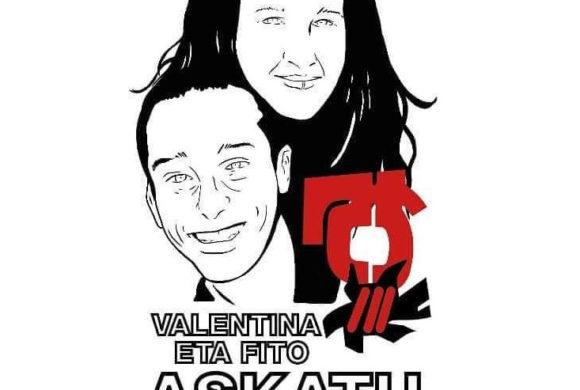 Fito eta Valentina 150 egun kartzelan bahituak daramakitela salatzeko ateratako agiria