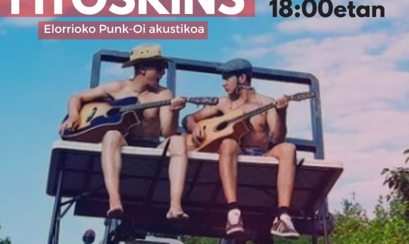 Kontzertua: Fitoskins, Elorrioko Punk-Oi akustikoa