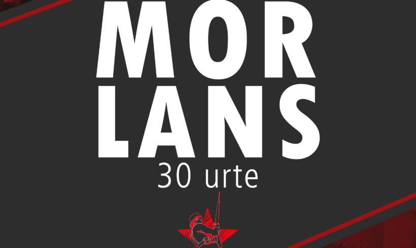 Morlanseko  sarraskiaren 30.  urteurrena